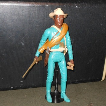 Marx Johnny West Adventures Jed Gibson 1975 - Toys
