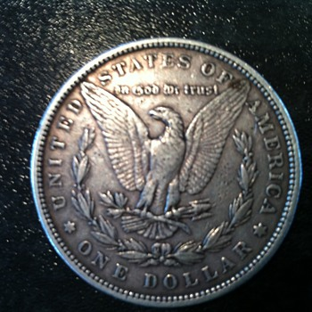 1884 Silver Dollar - US Coins