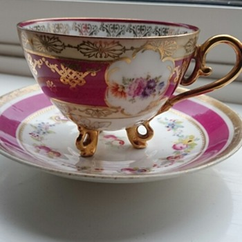 Porcelain Cup And Saucer Help Needed - China and Dinnerware