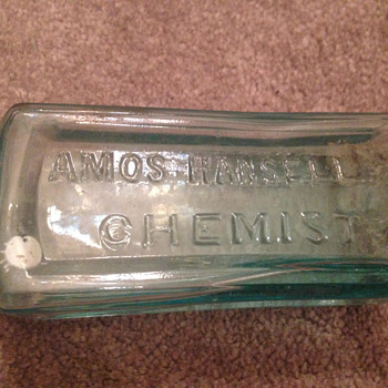 Bottles from Hansell and bro along with genuine stencil from them. - Bottles
