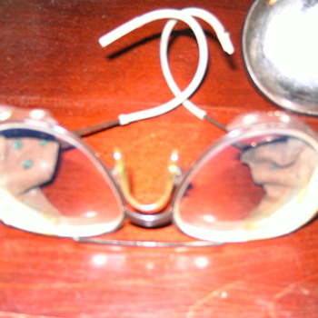 FLEA MARKET FIND-  OLD GLASSES - Accessories