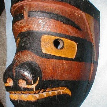 Northwest coast Native masks - Native American