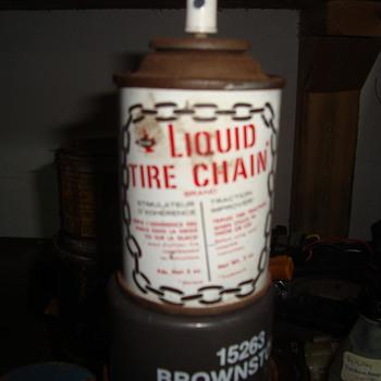 spray on chains  - Petroliana
