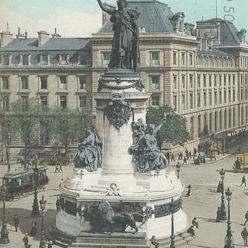 PARIS. - LA STATUE DE LA RÉPUBLIQUE - Postcards
