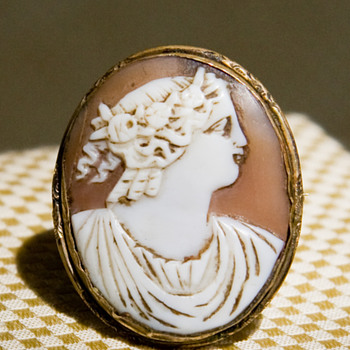 Conch Cameo - Fine Jewelry
