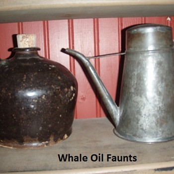 Whale Oil Faunts - Lamps