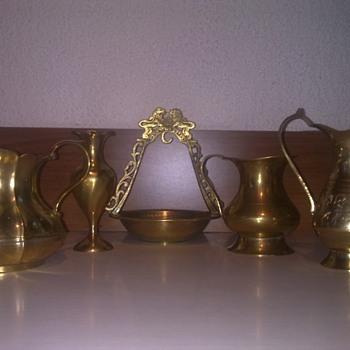 jewish brass jugs