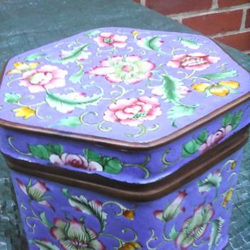My enamel box 2 - Asian