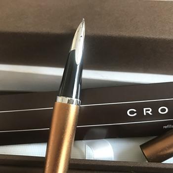 My unusual Cross fountain pen
