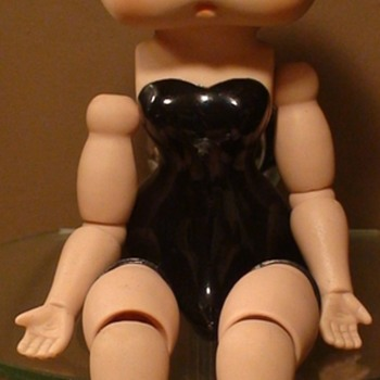 Betty Boop Porcelain Doll King Features Syndicate 1982