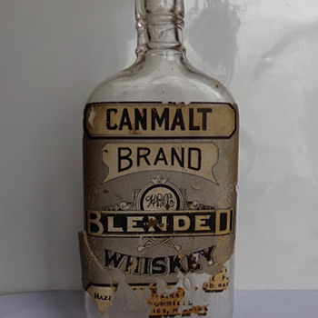 Pre-Prohibition Whiskey Bottle - Bottles