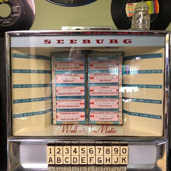 Seeburg Wall-O-Matic 3W100 Jukebox Wallbox - Coin Operated