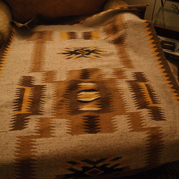 "American Indian Rug 72"" x 48"""
