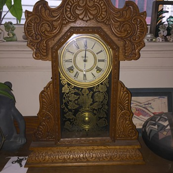INGRAHAM gingerbread clock  - Clocks