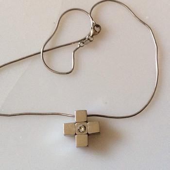 Silver chain & pendant  - Fine Jewelry