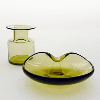 OLIVEN, Per Lütken (Holmegaard, 1956) - Art Glass