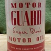 Motor Guard Super Blend extremely rare oil can