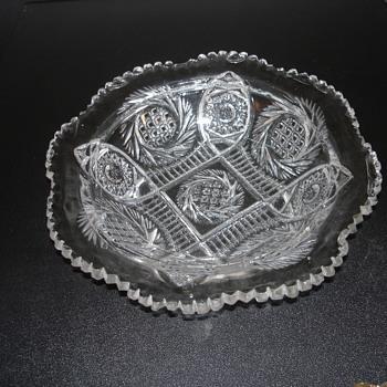 GLASS SERVING PLATE - Glassware