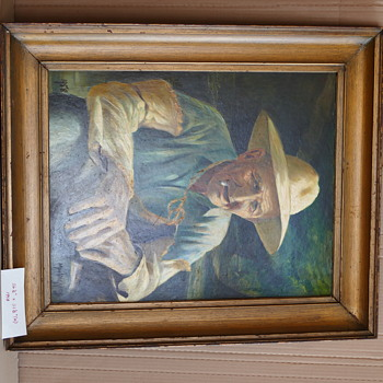 Old Man - Fine Art
