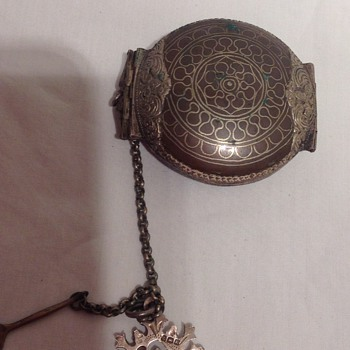 Unknown case, possibly a snuff box - Asian