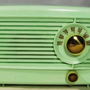 Little Green Tube Radio, pre-1953