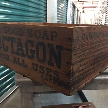 OCTAGON soap box - Advertising