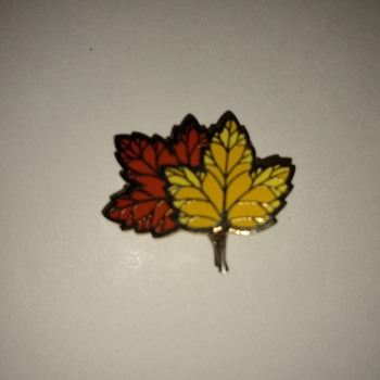 Two leaves  - Costume Jewelry
