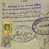 Straights settlements visa fee stamps