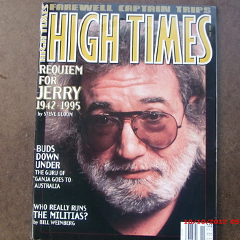 From my Grateful Dead Collection High Times #243 farewell to Jerry Garcia - Music Memorabilia