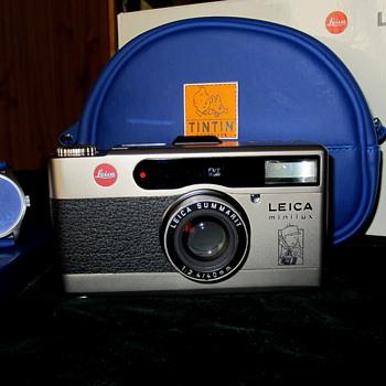 Leica Minilux TINTIN kit. - Cameras