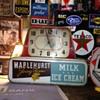 Maplehurst Jersey Farms...Milk...Ice Cream Electric Lighted Advertising Clock
