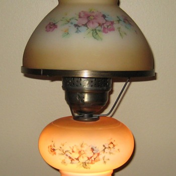 Pair of Vintage Globe Lamps - Lamps