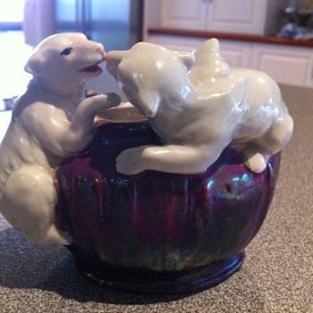My Mystery Polar Bear Vase - Pottery
