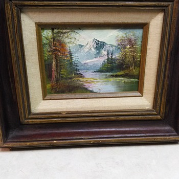 VINTAGE OIL PAINTING - Fine Art