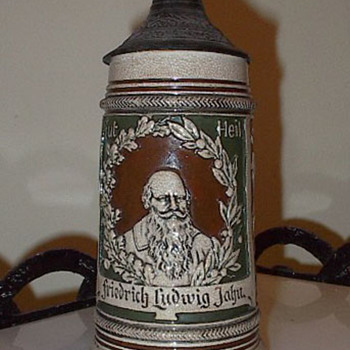 Friedrich Ludwig Jahn Beer Stein