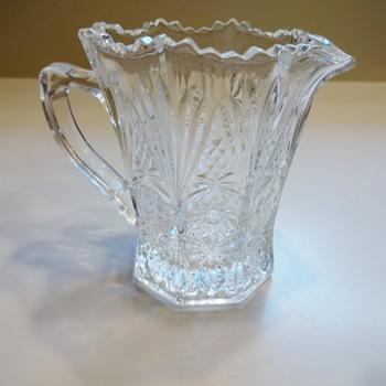 Small Creamer - Glassware