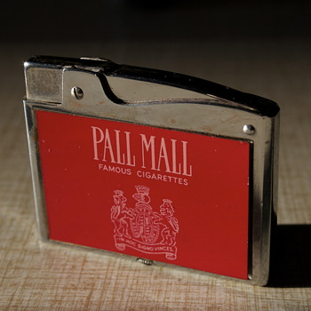 Vintage Pall Mall Cigarette Lighter - Tobacciana