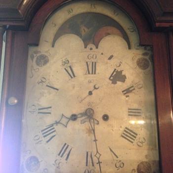 Grandfather Clock (circa 1790-1810) - Clocks