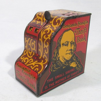 Benjamin Franklin thrift Bank - Toys