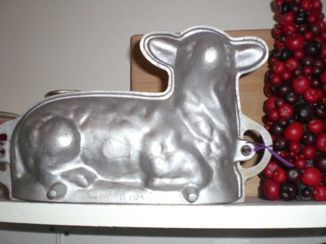 lamb cake mold cast iron and cast aluminum cake pans 5389