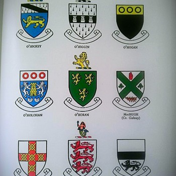 Irish Families- Their names, arms and orgins - Books
