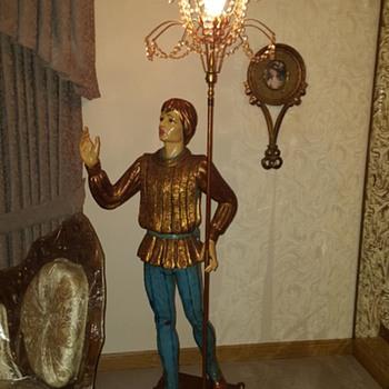 Floor chandelier  - Lamps