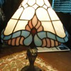 "16"" stained glass lamp"