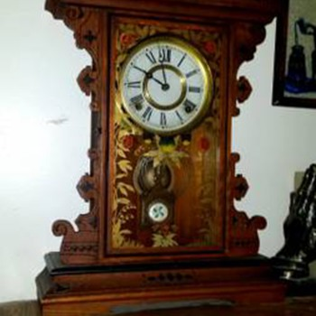 A Gingerbread Clock on a Craig's List Find