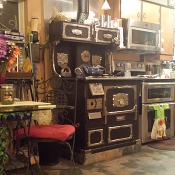 1900 Monarch wood cook stove  - Kitchen