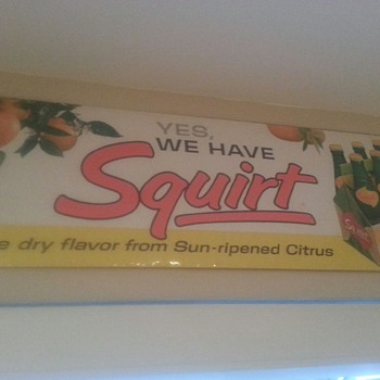Squirt sign - Signs