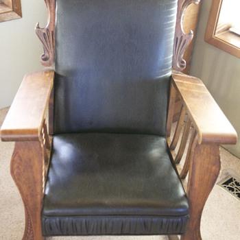 Lion Head Rocking chair - Furniture