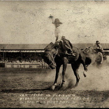 Oklahoma Roundup Photos..1920 - Photographs
