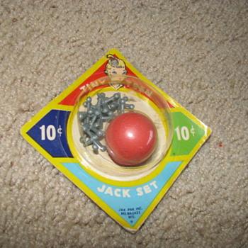 Vintage Toy Jack Set