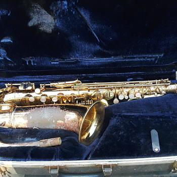 brass CONN alto saxophone - Musical Instruments